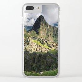 Machu Picchu, Peru Clear iPhone Case