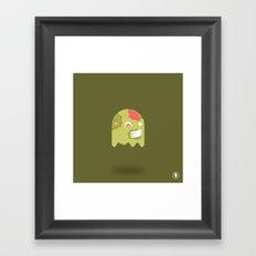 Zom-Boo Framed Art Print