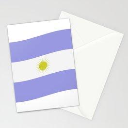 Argentine flag Stationery Cards