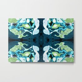 Abstract #3: Blue Marine Dream Metal Print