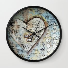 She is Free by Croppin' Spree Wall Clock