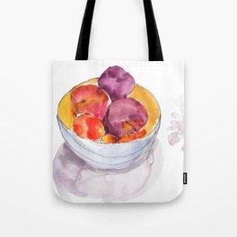 Stone Fruit Tote Bag