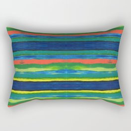 Bold Stripes Rectangular Pillow
