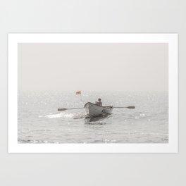 Lifeboat Atlantic City Art Print