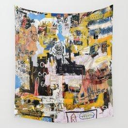 Basquiat World Wall Tapestry