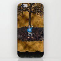 book cover iPhone & iPod Skins featuring Book Cover Illustration by Conceptualized