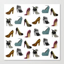 Shoe addict Canvas Print