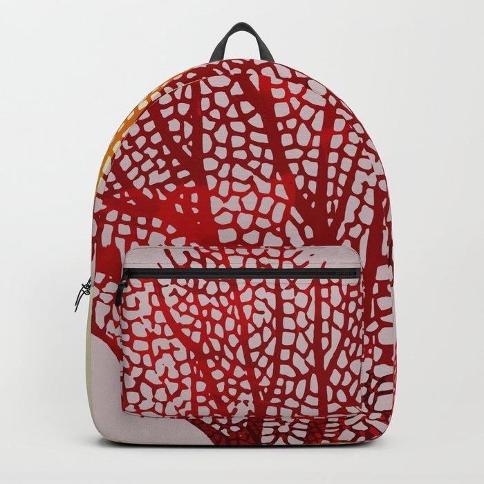 coral sunshine Backpack