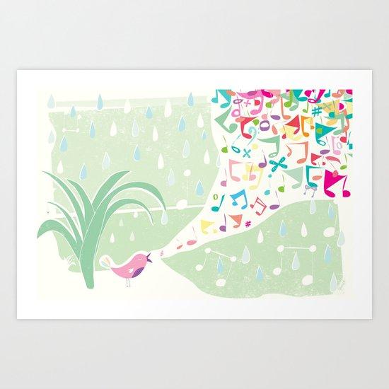 Singin in the Rain Art Print
