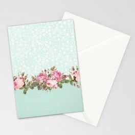Aqua Cottage Stationery Cards