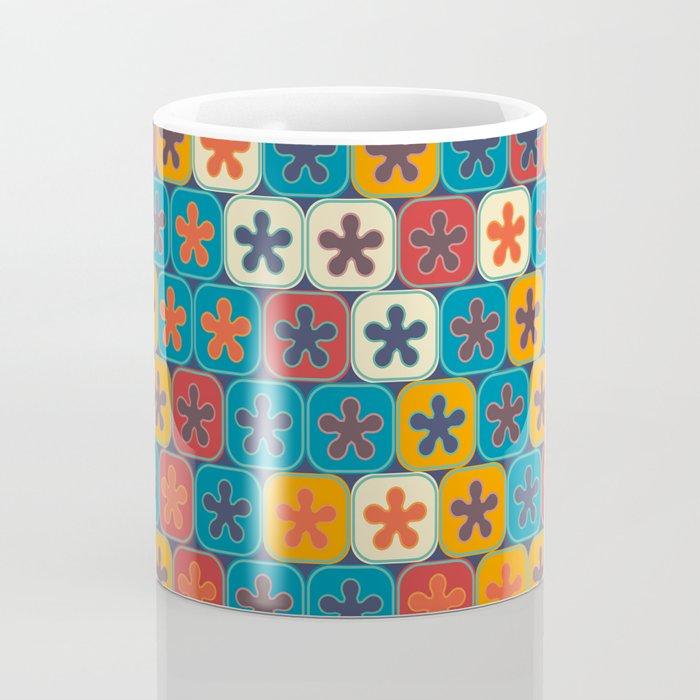 Blobs and tiles Coffee Mug