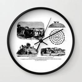 Archaeological Evidences Wall Clock
