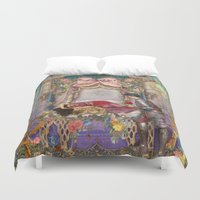 sleeping beauty Duvet Covers featuring Sleeping Beauty by Aimee Stewart