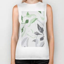 FLORAL ABSTRACTION 2 Biker Tank