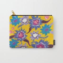 Blue Bouquet Carry-All Pouch