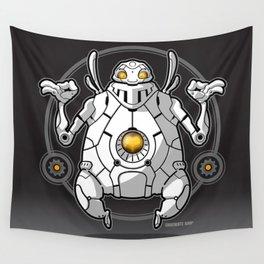 Zen Robot Wall Tapestry