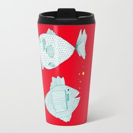 Two Old Fish Travel Mug
