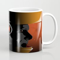 2001 Mugs featuring 2001 - A space odyssey by Martin Woutisseth