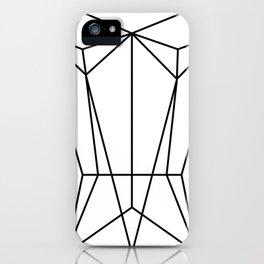 White Corset iPhone Case