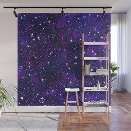 winter galactic Wall Mural