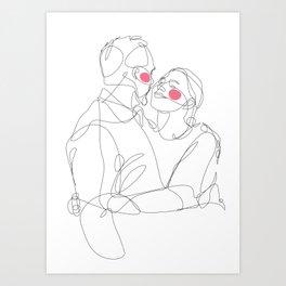 I + I = I Art Print