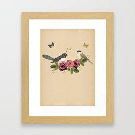 Song Bird 5 Framed Art Print