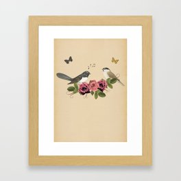 Song Bird 5 Framed Art Print