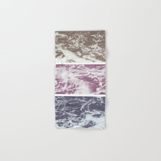 Saltwater tryptych Var I Hand & Bath Towel