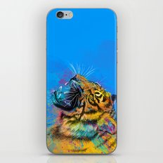 Angry Tiger iPhone & iPod Skin