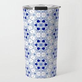 Delft Pattern 2 Travel Mug