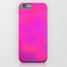 Blurry pink glass Slim Case iPhone 6s