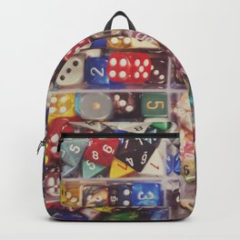 Colorful Dice Backpack