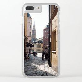 Gamla Stan Clear iPhone Case
