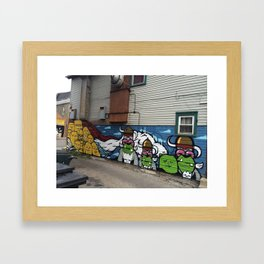 Pilsen Mural  Framed Art Print
