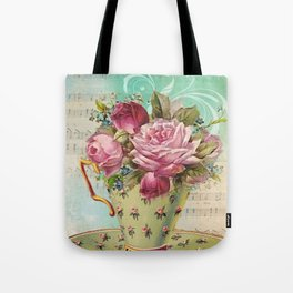 Tea flowers #6 Tote Bag