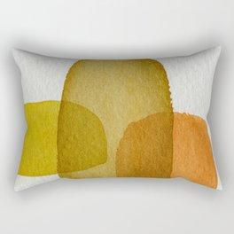 Three Monoliths Rectangular Pillow