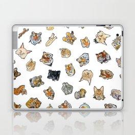 Big Cat Repeat 1 Laptop & iPad Skin