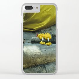 Buddha in Thailand Clear iPhone Case