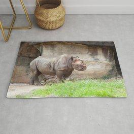 Rhinoceros Outdoors Rug