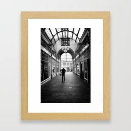 Kinetic disposition Framed Art Print
