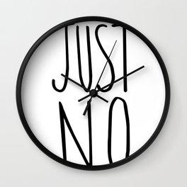 Just no. Wall Clock
