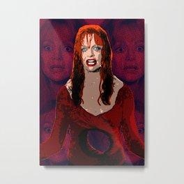 """Death Becomes Her - Helen """"Soaking Wet"""" Metal Print"""