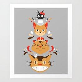 Studio Kitty Art Print