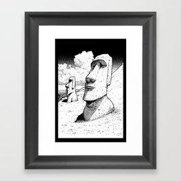 Easter Island  Framed Art Print