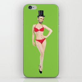 Baberaham Lincoln  iPhone Skin