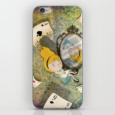 falling down iPhone & iPod Skin