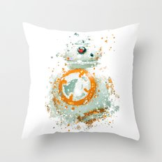 BB8 Star . Wars Throw Pillow
