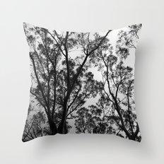 Nature into Me Throw Pillow