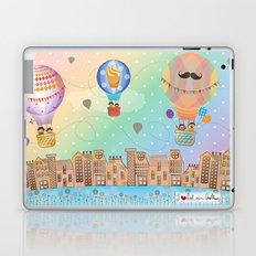 I {❤} Hot Air Balloon Laptop & iPad Skin