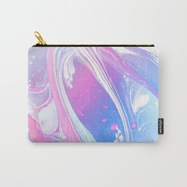 Ankaa II - Abstract Costellation Painting - Pastel Foam. Carry-All Pouch